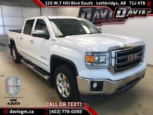 Used 2015 GMC Sierra 1500 SLT-Heated Leather Bench-Trailering Pa