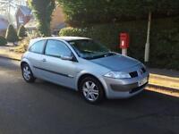 2003 Renault Megane 1,6 litre 12 months mot
