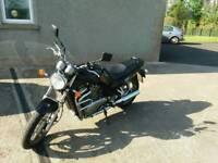 Rare Suzuki vx800 shaft drive motorbike