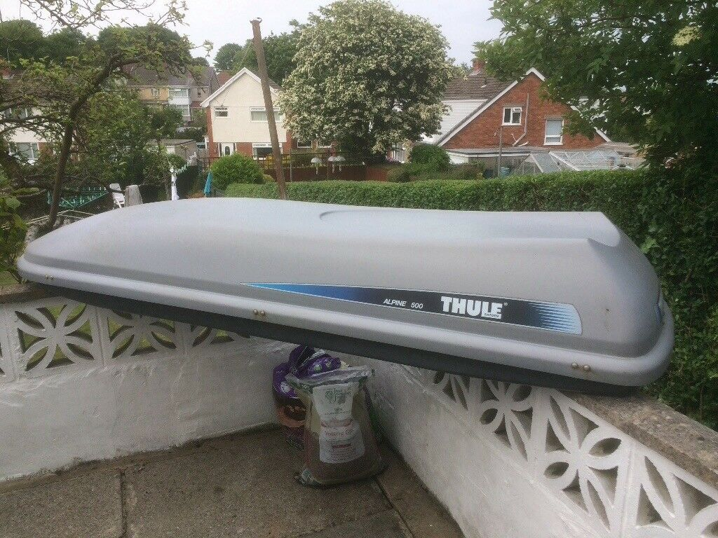 Thule Alpine 500 Roof Box In West Cross Swansea Gumtree