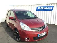 Nissan Note 1.4 N-Tec+ 5dr (red) 2012