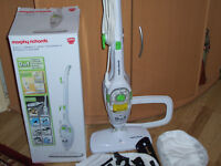 Morphy Richards 8 in 1 Upright and Hand Held Steam Cleaner