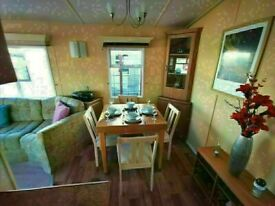 Cheap static caravan for sale sited in Essex, Beach access , Family fun