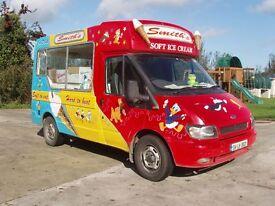 Whitby Morrison Ford Transit Ice cream van 2004