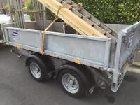 Ifor Williams tipping trailer 8x5