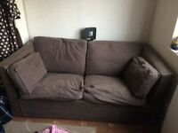 Brown Sofa Bed For Sale