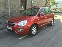 NEW Shape! Kia Carens 6 Speed DIESEL,FSH,MOT:04/18, 100k Miles, 2 Keys! Tow Bar! Mechanicaly PERFECT