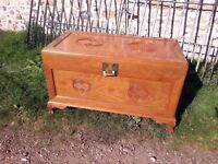 Beauitful Rosewood Chinese carved Breary Chest