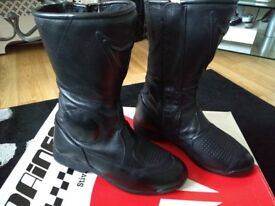 Leather motorcycle boots Dainese size: 4