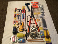 Job Lot Tools, Ironmongery, Screws, Sealants & Household Items Value £200 for Sale for £50