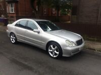 2004 MERCEDES C200 (KOMP) ADVANTAGE SE (AUTOMATIC) (A REALLY LOVELY CAR TO DRIVE) 12 MONTHS M.O.T