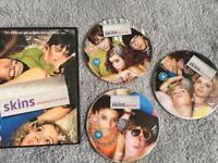 Skins Complete Season 1 DVD Set Excellent Condition