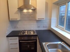 Newly Refurbished 2 Bedroom House with Garden, Central Heating and Brand New Kitchen.