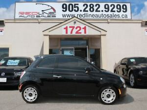 2014 Fiat 500 Pop, Red Interior, WE APPROVE ALL CREDIT