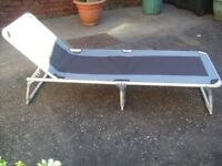 LICHFIELD DELUXE, CAMPING/SUN LOUNGER. EX. COND.