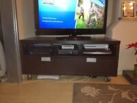 IKEA Besta Jagra TV / Entertainment Unit Stand Storage Drawers Wheels Bargain :)