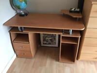 Desk and chair - £20