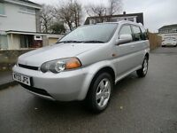 Honda HRV Four Wheel Drive, New Tyres and Recent Cambelt Change