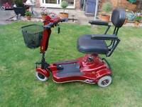 3 wheeler mobility scooter and in great condition