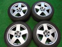 "AUDI A3, TT, VW GOLF MK4, BETTLE, BORA, 16"" SPEEDLINE ALLOY WHEELS 5 x 100"