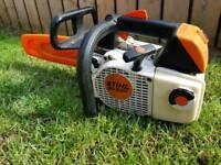 Stihl ms 200T chainsaw