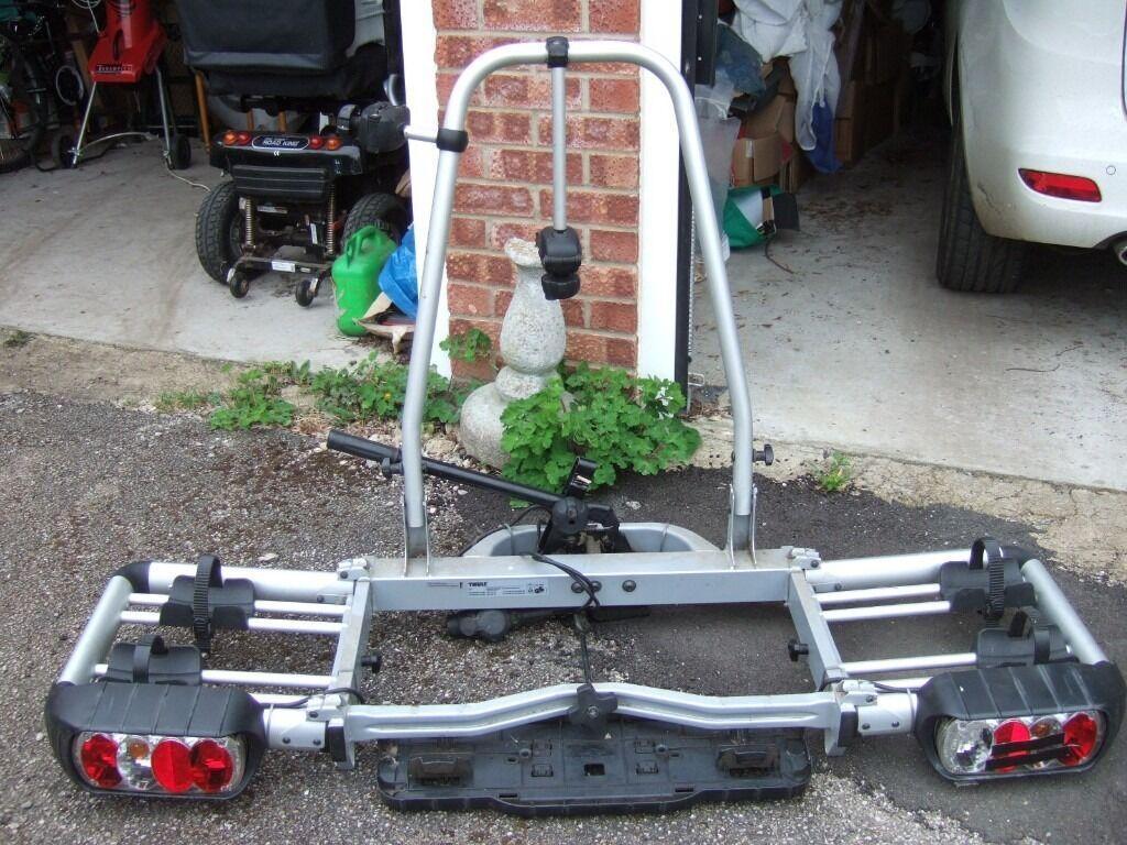 thule euroclassic pro 902 903 bike rack for towbar. Black Bedroom Furniture Sets. Home Design Ideas