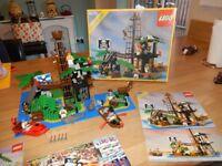 Rare Vintage Legoland Lego Set - Forbidden Island lego set 6270 Plus Partial 6260