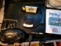 2 x mega drive consoles