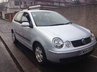 2005/54 Vw polo 1.4 petrol 5 doors