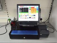 ELO Epos Till System Touchscreen Till, Cash Till, Epos software , CASH TILL, BARCODE SCANNER