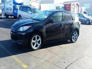 2012 Mazda 3 Sport GS-SKY| HATCH | LEATHER | SUNROOF | BLUETOOTH