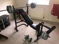 Pro power bench set