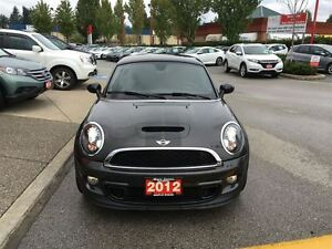 2012 MINI Cooper Coupe S - Leather! One Owner! Very Low km!