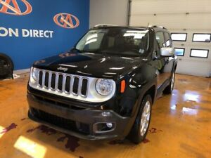 2017 Jeep Renegade Limited LIMITED!  4X4/ HEATED LEATHER SEAT...
