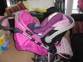 mama's and papa's luna mix pushchair
