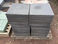 Paving slabs 38nr dark grey 450x450