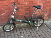 Capital fold out bike in good condition