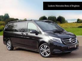 Mercedes-Benz V Class V250 BLUETEC SPORT (black) 2017-09-29