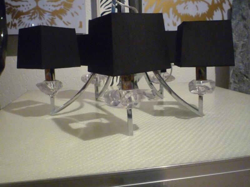 5 armiger kronleuchter np ca 300 00 mit kristall top for Ebay kleinanzeigen kronleuchter