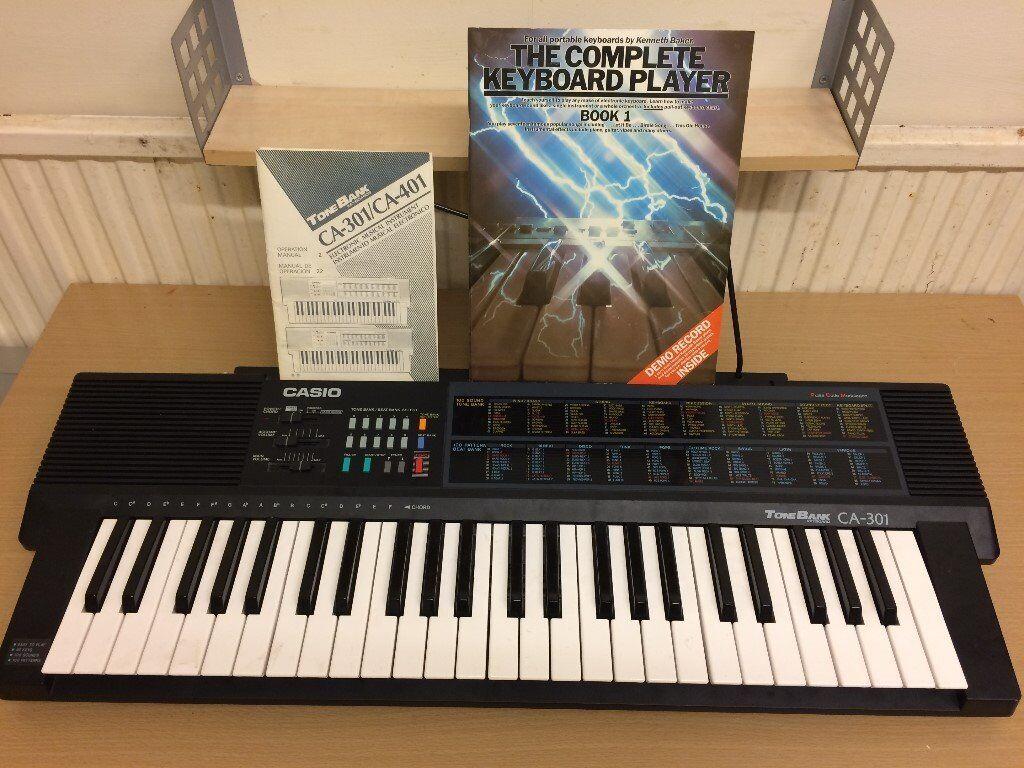 casio keyboard instruction manuals