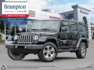 2016 Jeep Wrangler UNLIMITED SAHARA | 4X4 | TRADE-IN | 6.5 IN TO