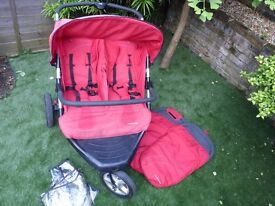 Double push chair from mothercare