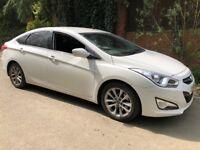 Hyundai I40 Style CRDI 1685cc Turbo Diesel Automatic 4 door saloon 14 Plate 11/07/2014 White