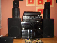 JVC 200 cd-separate stereo tower