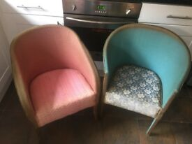 2 shabby chic chair projects