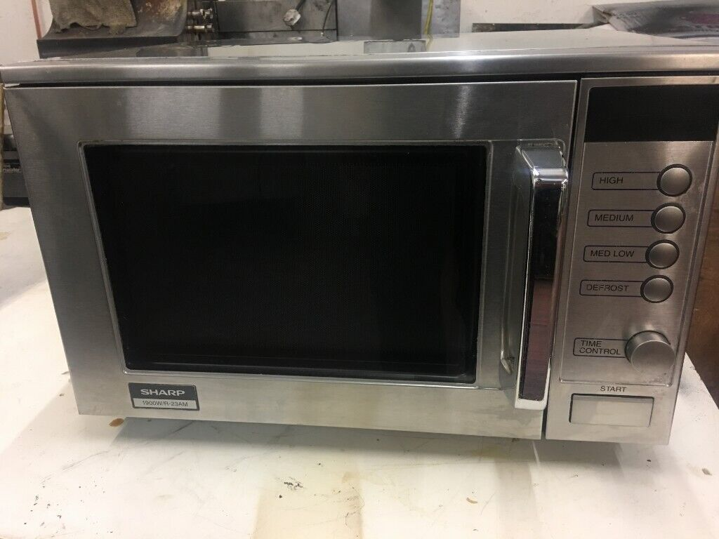 Sharp R-23M Commercial microwave | in Bradford, West Yorkshire | Gumtree
