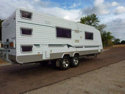AussieWide Bunderra - Triple Bunks / Sep Shwr & Tlt / Off-Road Queenton Charters Towers Area Preview
