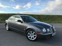 VERY CLEAN JAGUAR S-TYPE 3.0 V6 WITH MASSIVE SPEC FULL SERVICE HISTORY AND A NEW MOT! HPI CLEAR!