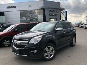 2015 Chevrolet Equinox LTZ GPS V6 accident free
