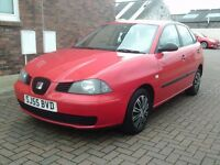 2006 55 SEAT IBIZA 1.2 5DR ** MOT FEBRUARY 2018 ** TRADE IN TO CLEAR **